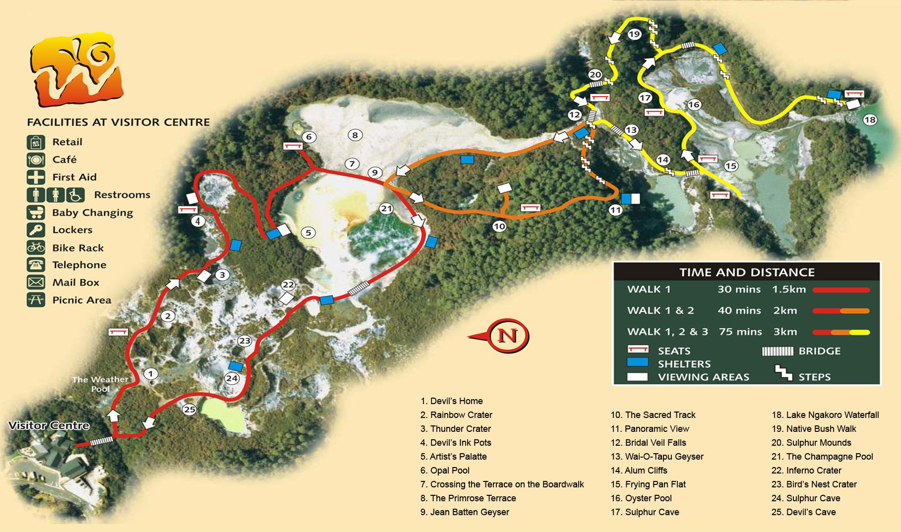 waiotapu-map